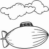 Coloring Helicopter Clipart Curious George Airships Template Airplanes Clip Blimp Cliparts Popular Clipartmag Library sketch template