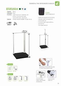 Handrail Scales  Medical Scales With Handrails