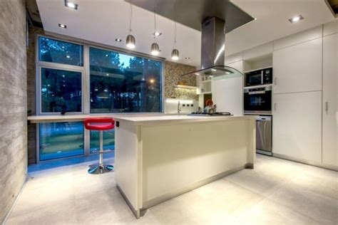 baie de cuisine cuisines design 110 idées pour un aménagement tendance