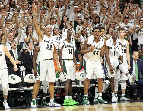 michigan state basketball preview st johns   colors