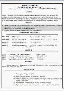 cfa level 1 resume cfa level 1 candidate resume