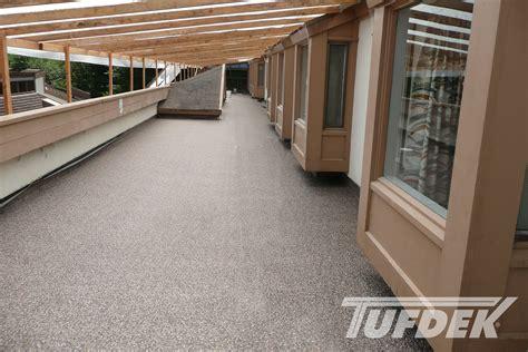 commercial waterproof vinyl deck photo gallery by tufdek