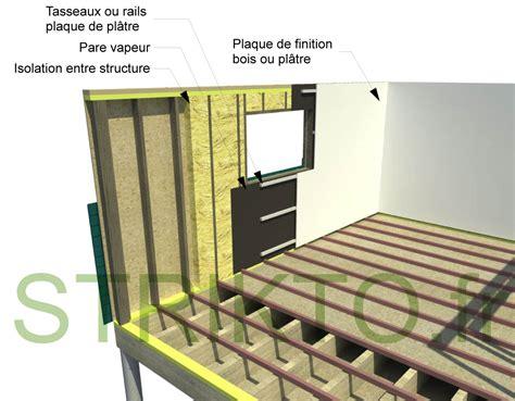 la maison a ossature bois par les schemas mur ossature bois le concevoir soi m 234 me