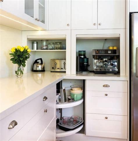 kitchen storage ideas for small kitchens 42 creative appliances storage ideas for small kitchens
