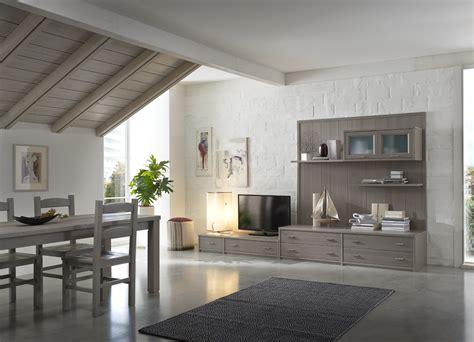 mobili pino 187 soggiorno componibile in legno