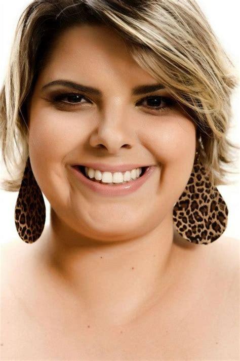 fat face hairstyles ideas  pinterest fat