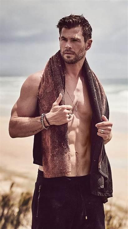 Hemsworth Chris Photoshoot Beach Actor 4k Mobile