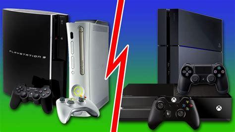 ps4 console vs xbox one xbox one ps4 xbox 360 ps3 console size comparison