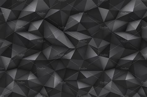 Abstract Black Pattern by Abstract Geometric Patterns Web Elements Creative Market