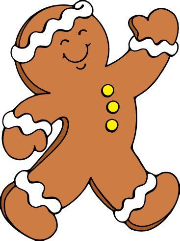 Running Gingerbread Man Clipart (16+)