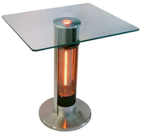 outdoor leisure bistro table patio heater energ bistro table infrared electric patio heater hea