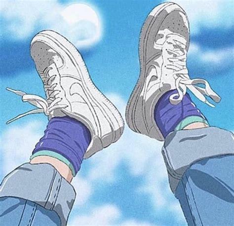 pin by trevor on vibe aesthetic anime blue anime