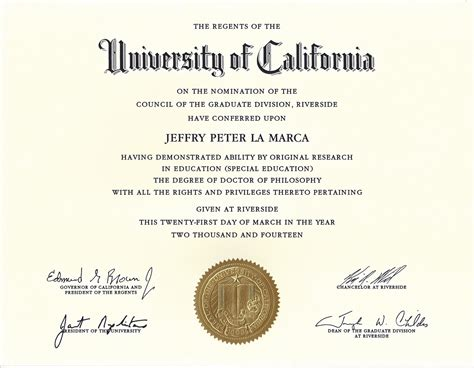 University Of California Doctoral Diploma  Jeff La Marca. Can I File Bankruptcy Without My Spouse. University Of Eastern New Mexico. Executive Recruiters International. Master Of Science In Nursing Online Programs. Family Law Attorney Job Description. 1 Affordable Small Car Self Storage Warren Mi. Small Business Wireless Plans. Design Your Own Postcard Sealy Mattress Latex