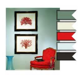 teal seafoam and red color combos pinterest