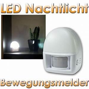 Einbaustrahler Mit Bewegungsmelder : led nachtlicht bewegungsmelder batteriebetrieb im led onlineshop ~ Watch28wear.com Haus und Dekorationen