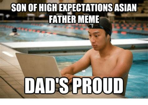 Son And Dad Meme - asian pick up lines