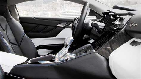 lykan hypersport interior 7 of the craziest looking dashboards and interiors by