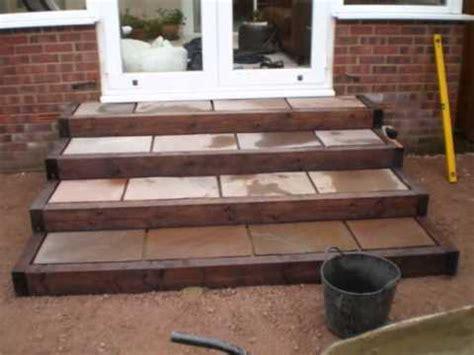 patio steps garden design wmv