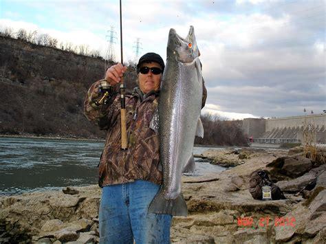 niagara falls fishing rzucidlo bow usa power ny trout rainbow hole amike lb devils forecast brought destination nov platform authority