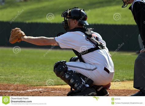 Baseball - catcher stock photo. Image of plate, team, home - 627976
