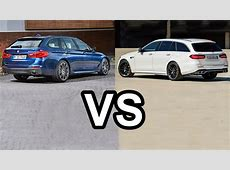 2017 Mercedes EClass Estate Vs 2017 BMW 5 Series Touring