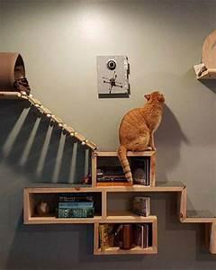 Arbre À Chat Mural : 5 diy pour fabriquer un arbre chat marie claire ~ Melissatoandfro.com Idées de Décoration