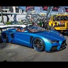 sema custom built car body   infiniti  lifted