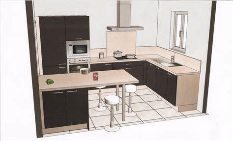 cuisine type pas cher amazing modeles de cuisines equipees 8 plans cuisine