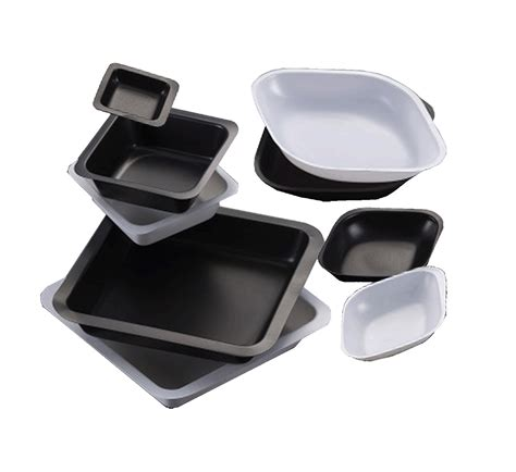 Balance Weighing Boat by Square Weigh Boat Black 45x45mm