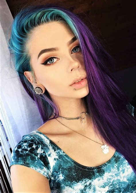 35 edgy hair color ideas to try right now cosmico