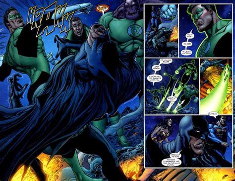 green lantern asking batman if he even has a superpower