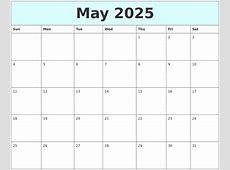 February 2025 Blank Calendar