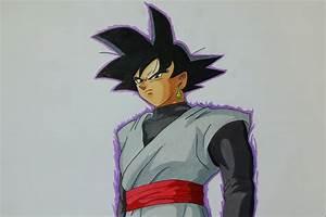 Drawing Black Goku Dragon Ball Super YouTube