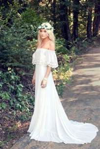 45 beautiful boho chic wedding dresses happywedd - Boho Dresses Wedding