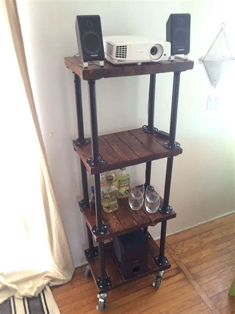 projector stand ideas  pinterest