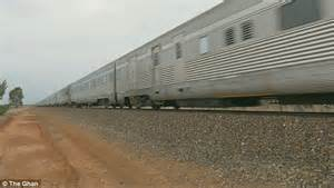 The Ghan, the longest passenger train in the world ...
