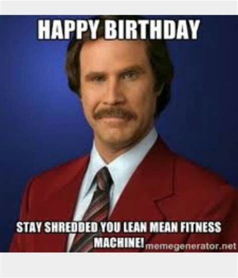 Happy Birthday Gym Meme - pin by susie dixon on fitness quotes pinterest