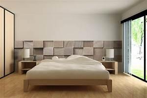 Tissu Pour Tete De Lit : decoration tete de lit papier peint ~ Preciouscoupons.com Idées de Décoration