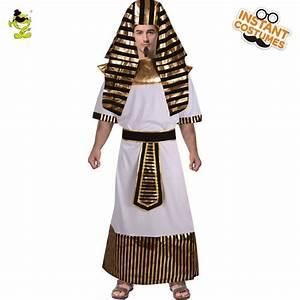 Adult Men Egyptian Pharaoh Costume Male Egyptian Priest ...