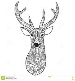 Adult Deer Coloring Pages