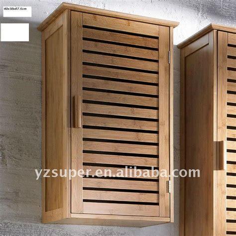 meuble haut salle de bain bois