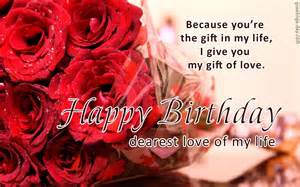 sweet birthday wishes and greetings for loved one