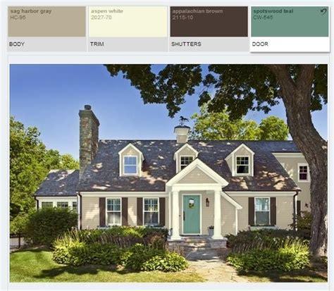 benjamin paint color schemes sag harbor gray hc95