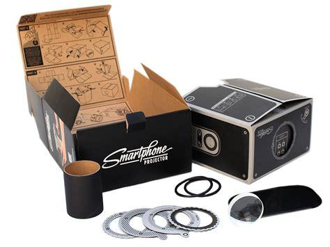 smartphone projector diy cinema   box
