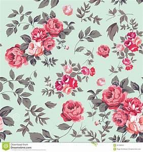 Rose Seamless Pattern Stock Images - Image: 35190694