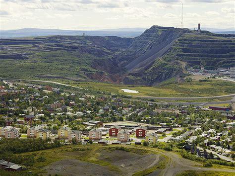 kiruna town swedish sweden crack earth iron ore ground vice swallowed being toward caused mining klaus huge working way its
