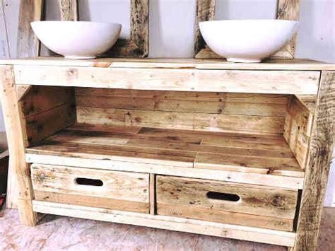 meubles en palettes de recuperation plan de meuble en palette 224 t 233 l 233 charger tuto palette