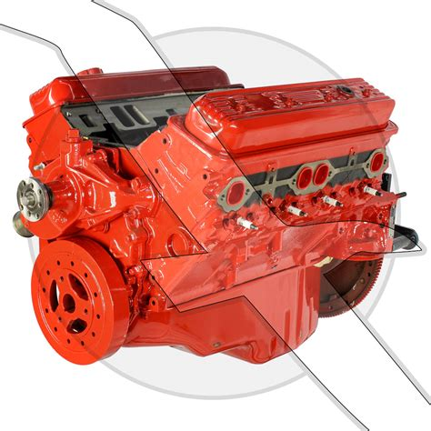 ci vortec long block marine motor mercruiser volvo
