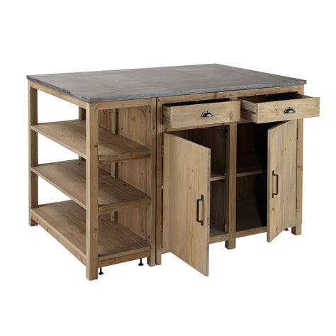 ilot cuisine maison du monde meuble cuisine pagnol maison du monde 122773 7 jpg