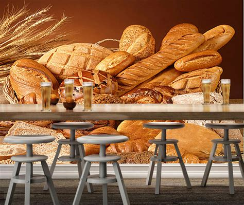 Bakery Wallpaper Wheat With Bread 3d Modern Mural Used For HD Wallpapers Download Free Images Wallpaper [1000image.com]